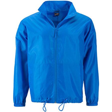 Men`s Promo Jacket in Bright Blue von James+Nicholson (Artnum: JN1132