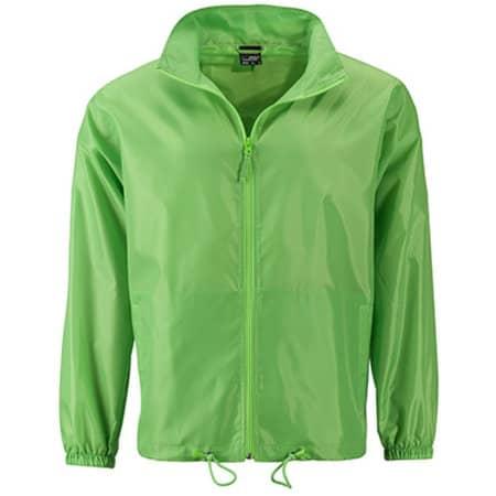 Men`s Promo Jacket in Spring Green von James+Nicholson (Artnum: JN1132