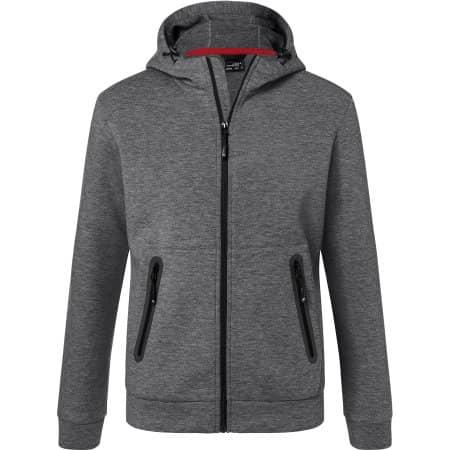 Men`s Hooded Jacket von James+Nicholson (Artnum: JN1144