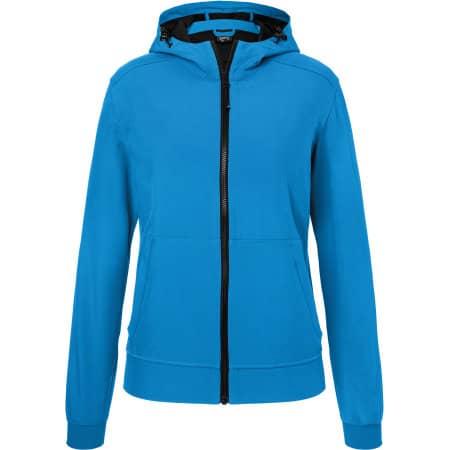 Ladies` Hooded Softshell Jacket von James+Nicholson (Artnum: JN1145
