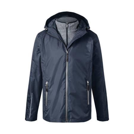 Men´s 3-in-1-Jacket von James+Nicholson (Artnum: JN1154