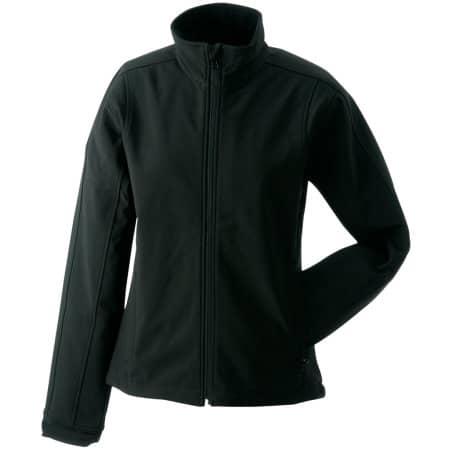 Ladies` Softshell Jacket JN137 in Black von James+Nicholson (Artnum: JN137