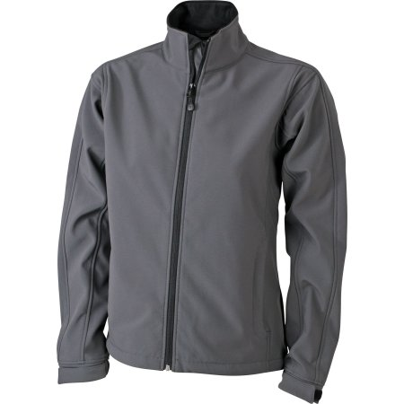 Ladies` Softshell Jacket JN137 in Carbon von James+Nicholson (Artnum: JN137