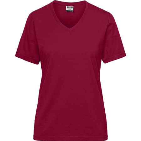 Ladies` BIO Workwear T-Shirt von James+Nicholson (Artnum: JN1807