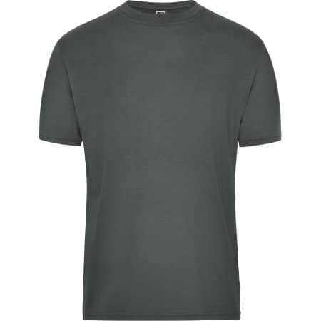 Men`s BIO Workwear T-Shirt von James+Nicholson (Artnum: JN1808