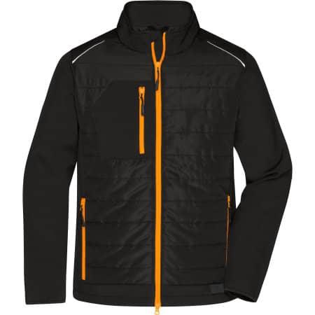 Men`s Hybrid Jacket von James+Nicholson (Artnum: JN1820