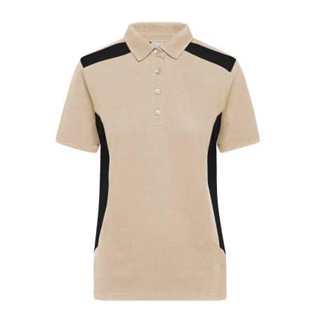 Ladies` Workwear Polo -STRONG- von James+Nicholson (Artnum: JN1825