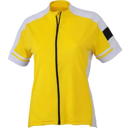 Ladies` Bike-T Full Zip von James+Nicholson (Artnum: JN453