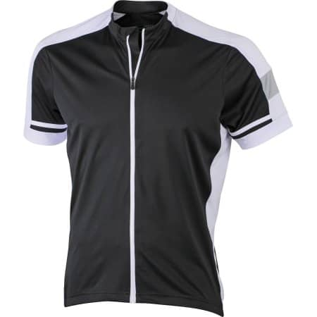 Men`s Bike-T Full Zip von James+Nicholson (Artnum: JN454