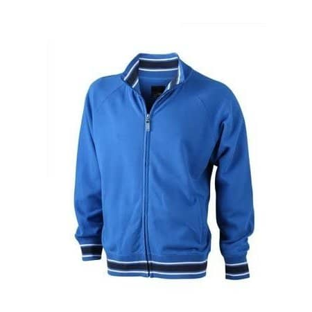 Mens Baseball Jacket von James+Nicholson (Artnum: JN565