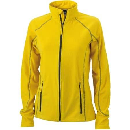Ladies` Structure Fleece Jacket JN596 von James+Nicholson (Artnum: JN596
