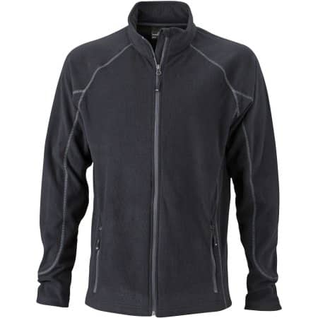 Men`s Structure Fleece Jacket JN597 von James+Nicholson (Artnum: JN597