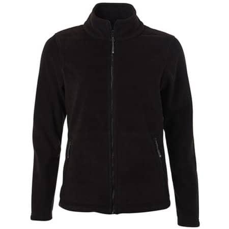Ladies` Fleece Jacket JN781 in Black von James+Nicholson (Artnum: JN781