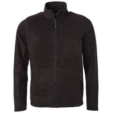 Men`s Fleece Jacket JN in Black von James+Nicholson (Artnum: JN782