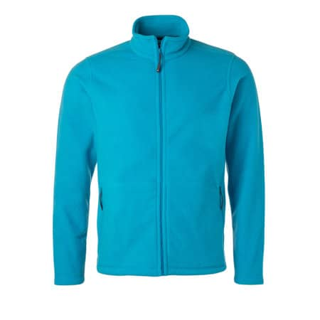 Men`s Fleece Jacket JN von James+Nicholson (Artnum: JN782