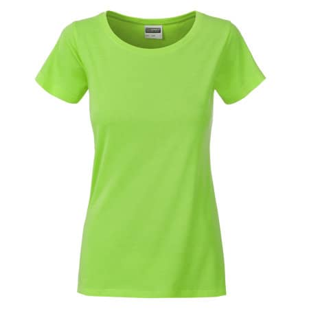Ladies Basic-Tee von James+Nicholson (Artnum: JN8007