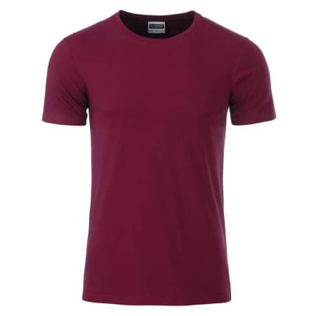 Men`s Basic-T von James+Nicholson (Artnum: JN8008