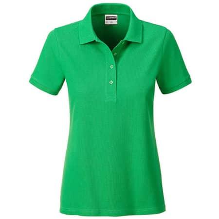 Ladies` Basic Polo in Fern Green von James+Nicholson (Artnum: JN8009
