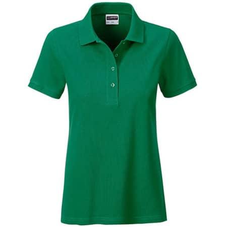 Ladies` Basic Polo in Irish Green von James+Nicholson (Artnum: JN8009