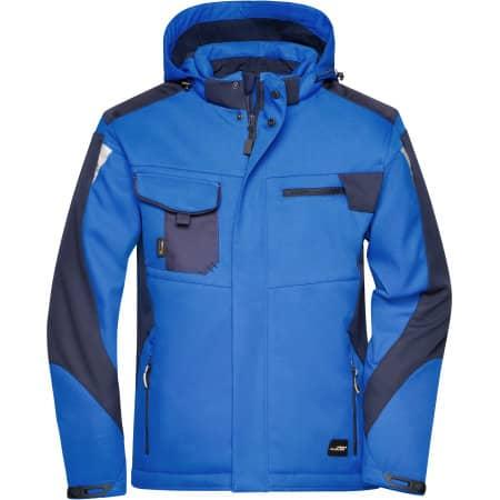 Craftsmen Softshell Jacket -STRONG- von James+Nicholson (Artnum: JN824