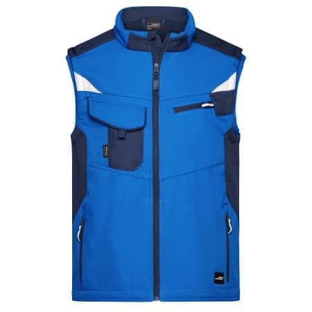 Workwear Softshell Vest -STRONG- von James+Nicholson (Artnum: JN845