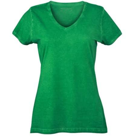 Ladies` Gipsy T-Shirt in Fern Green von James+Nicholson (Artnum: JN975