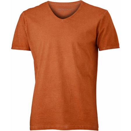 Men`s Gipsy T-Shirt in Terra von James+Nicholson (Artnum: JN976