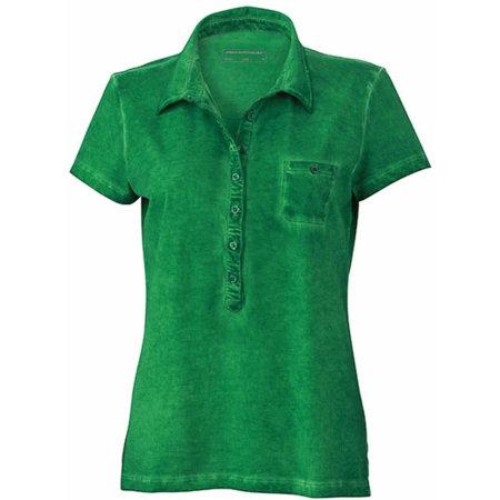 Ladies` Gipsy Polo in Fern Green von James+Nicholson (Artnum: JN987