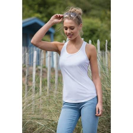 Girlie Tri-Blend Vest von Just Ts (Artnum: JT015