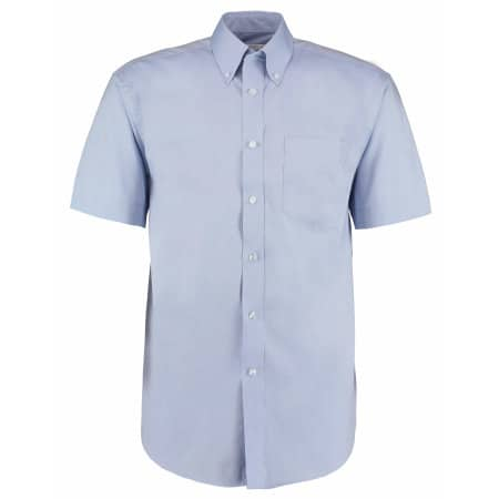 Men`s Corporate Oxford Shirt Short Sleeve von Kustom Kit (Artnum: K109