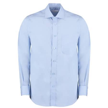 Men`s Premium Non Iron Corporate Shirt Long Sleeve von Kustom Kit (Artnum: K116