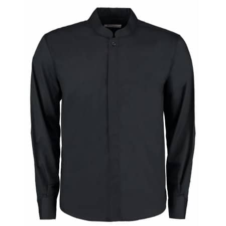 Men`s Bar Shirt Mandarin Collar Long Sleeve von Bargear (Artnum: K123
