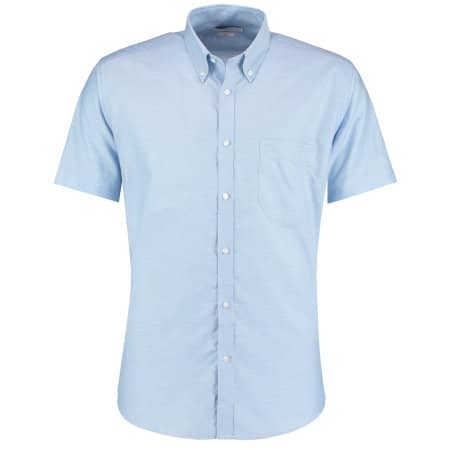 Slim Fit Workwear Oxford Shirt Short Sleeve von Kustom Kit (Artnum: K183