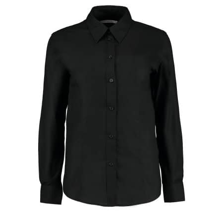 Women`s Workwear Oxford Shirt Long Sleeve von Kustom Kit (Artnum: K361