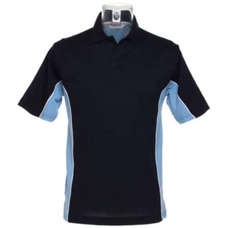Track Polo in Navy|Light Blue|White von Gamegear (Artnum: K475
