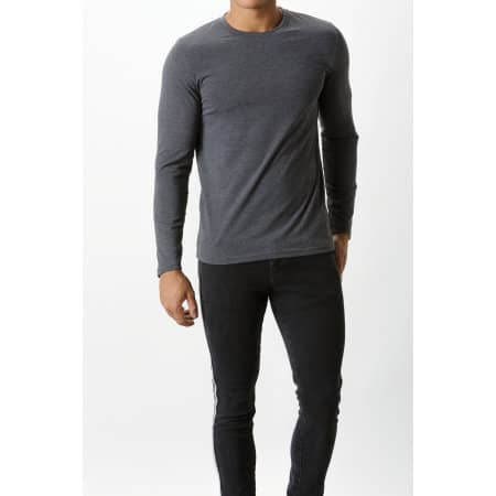 Fashion Fit Long Sleeve Superwash® 60° Tee von Kustom Kit (Artnum: K510