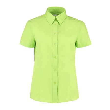 Women`s Workforce Poplin Shirt Short Sleeve von Kustom Kit (Artnum: K728