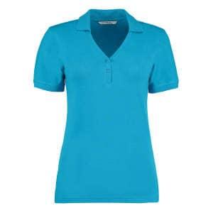 Sophia Comfortec® V Neck Polo Shirt
