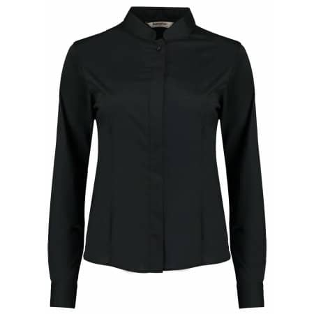 Women`s Bar Shirt Mandarin Collar Long Sleeve von Bargear (Artnum: K740