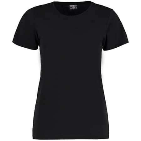 Superwash® 60° T Shirt Fashion Fit in Black von Kustom Kit (Artnum: K754