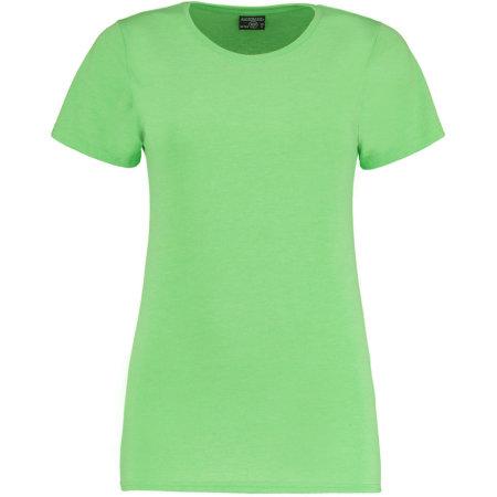 Superwash® 60° T Shirt Fashion Fit in Lime Marl von Kustom Kit (Artnum: K754