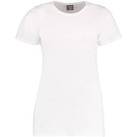 Superwash® 60° T Shirt Fashion Fit in White von Kustom Kit (Artnum: K754