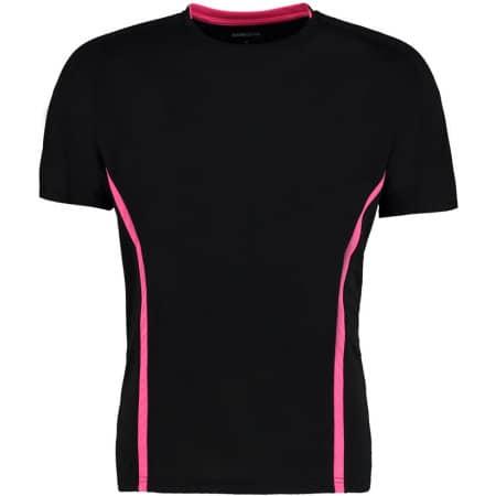 Cooltex Action T-Shirt in Black|Fluorescent Pink von Gamegear Cooltex (Artnum: K976