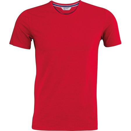Herren Vintage Kurzarm T-Shirt von Kariban (Artnum: KBV2104