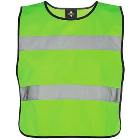Kids` Safety Poncho EN 1150 in Neon Green von Korntex (Artnum: KX102