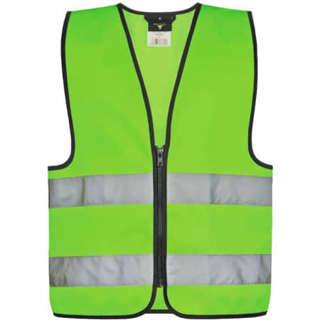 Safety Vest for Kids with Zipper EN1150 von Korntex (Artnum: KX201