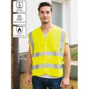 Flame-retardant Antistatic Multinorm Safety Vest