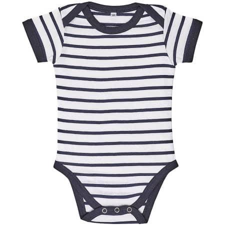 Baby Striped Bodysuit Miles von SOL´S (Artnum: L01401