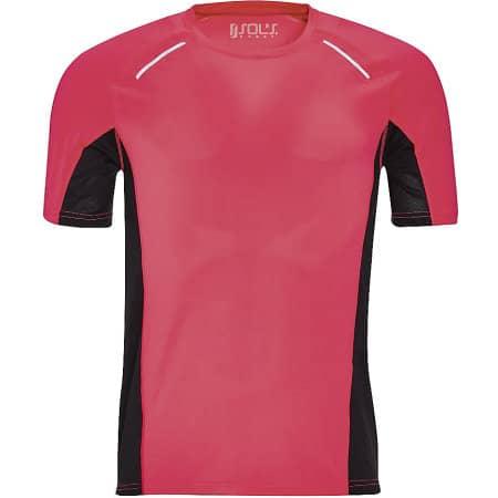 Men`s Short Sleeve Running T-Shirt Sydney von SOL´S (Artnum: L01414