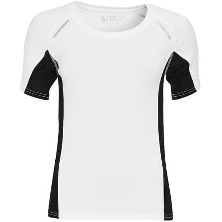Women`s Short Sleeve Running Shirt Sydney von SOL´S (Artnum: L01415